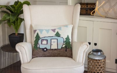 Camper Crochet Pillow Cover – Free Pattern