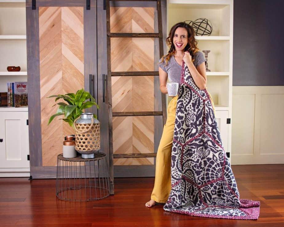 DIY Blanket Ladder with Briana K Designs