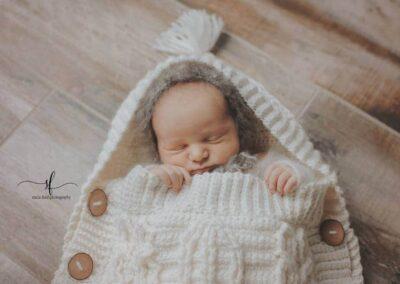 Infinity Crochet Baby Cocoon