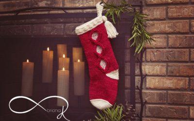 Infinity Crochet Joy Stocking