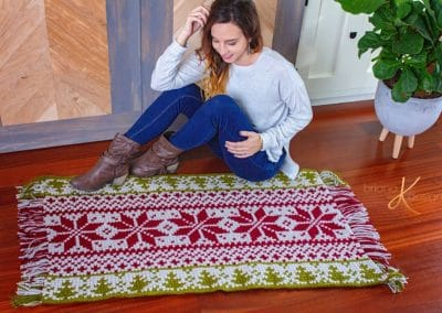Fair Isle Holiday Rug