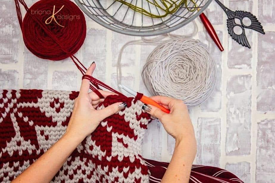 Holiday Rug by Briana K Designs