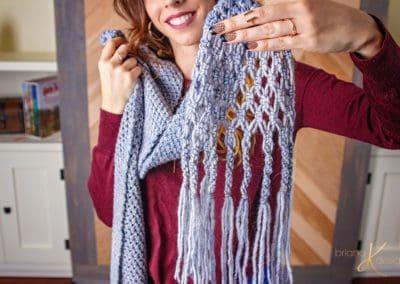 Boho Macrame Crochet Wrap