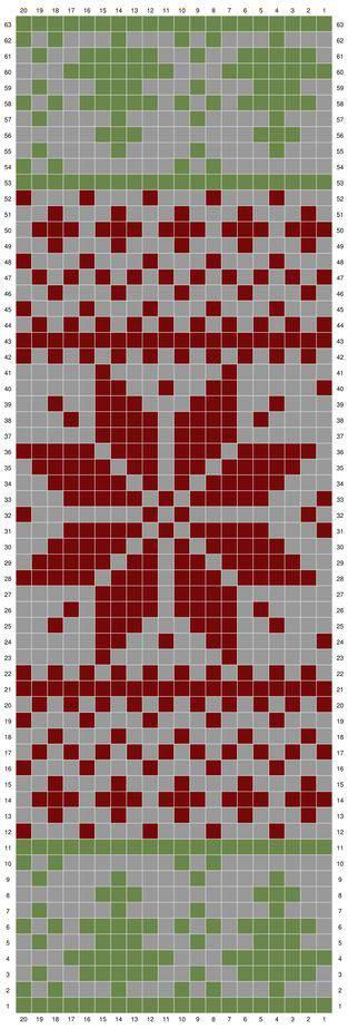 Fair Isle Crochet Holiday Rug