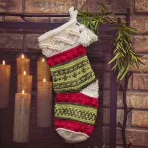 Infinity Noel Christmas Stocking