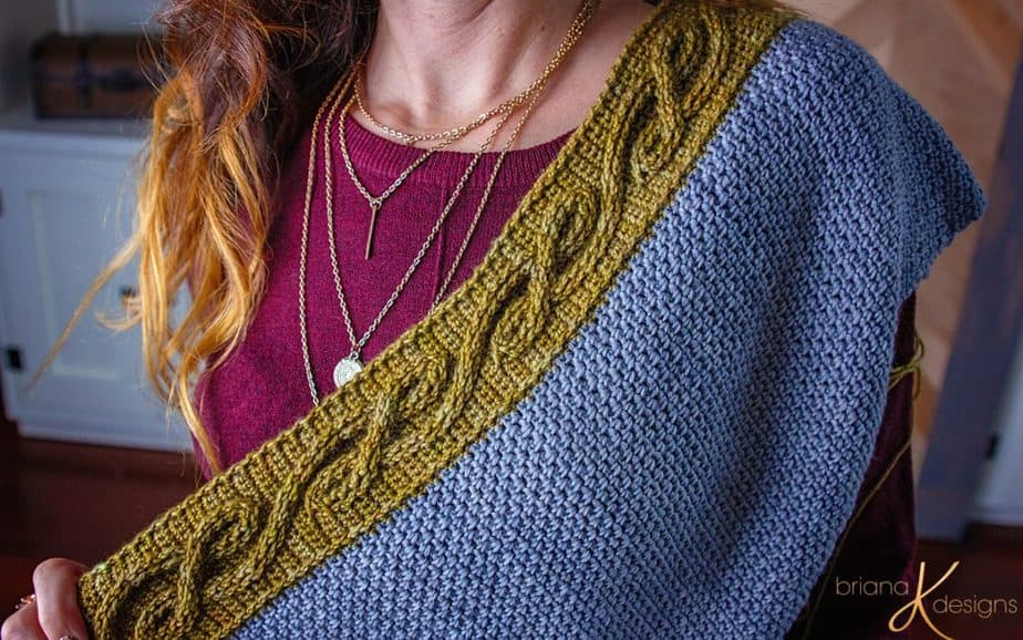 The Traveling Vine Crochet Shawl