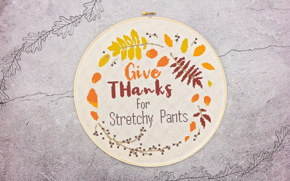 Give Thanks For Stretchy Pants