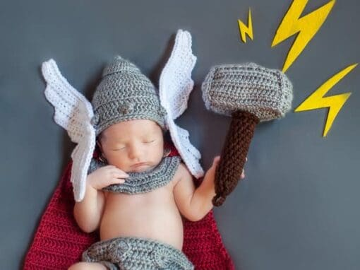 Newborn God of Thunder Outfit