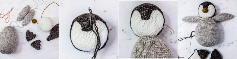 Penguin Knit Buddy