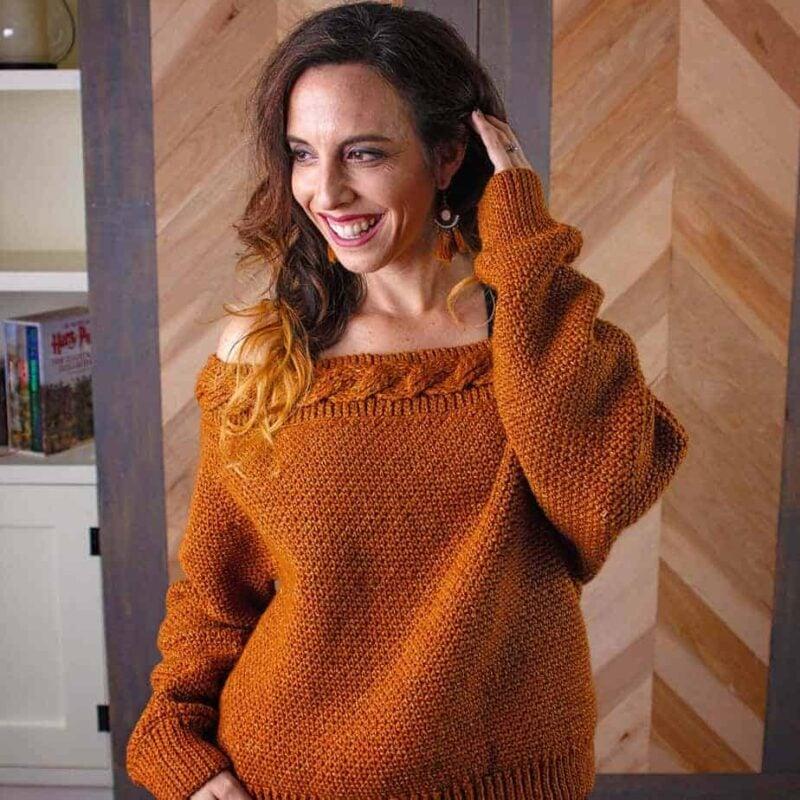 valencie crochet sweater pattern