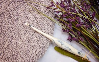 Quilted Lattice Crochet Stitch