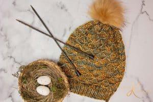 Quilted Lattice Knit Stitch