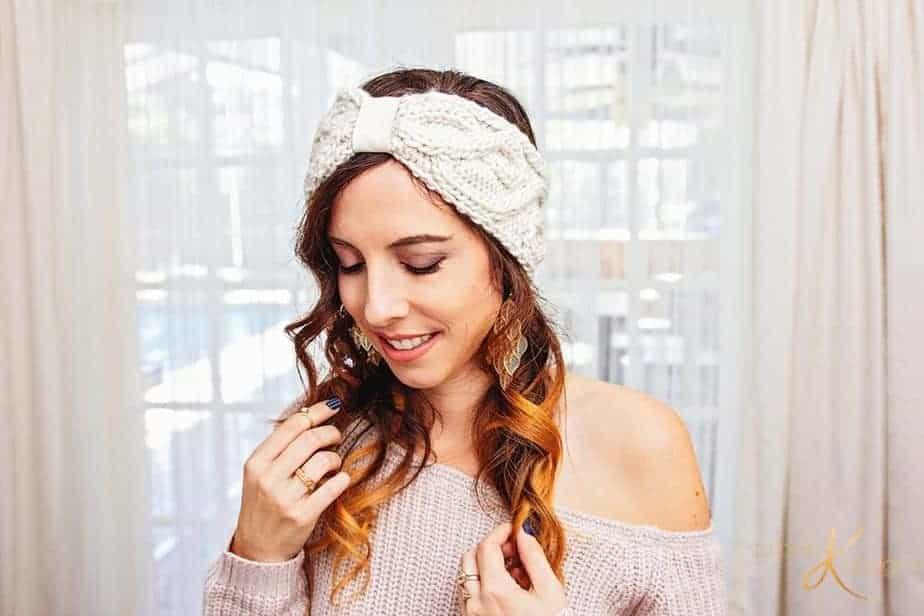 Traveling Vine Earwarmer Knit