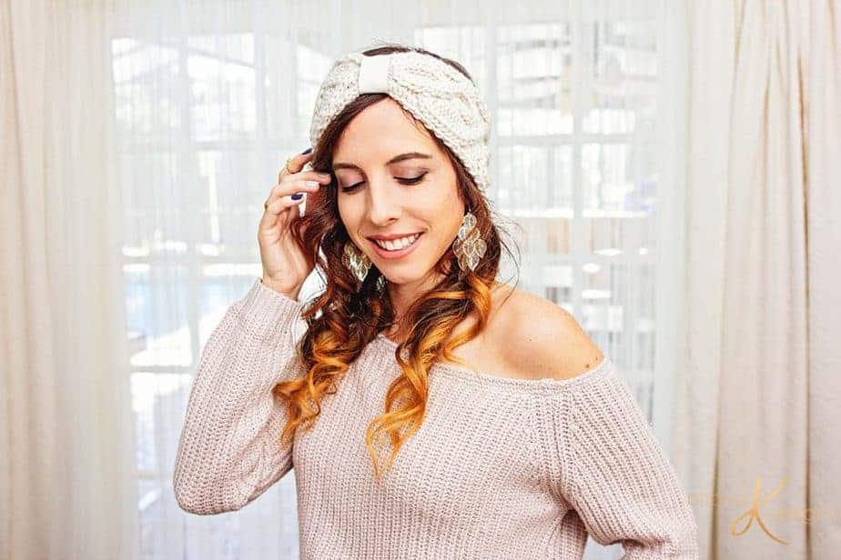 Traveling Vine Earwarmer Knit