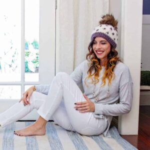 cluster crochet hat