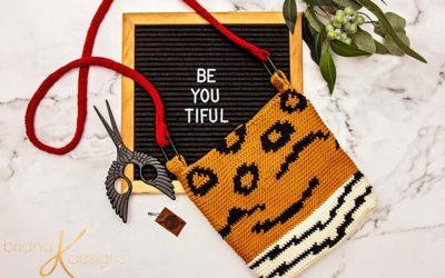 Animal Print Crochet Bag Pattern