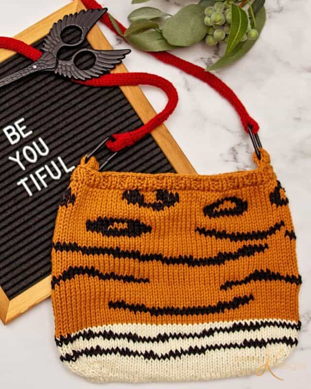 Animal Knit Bag