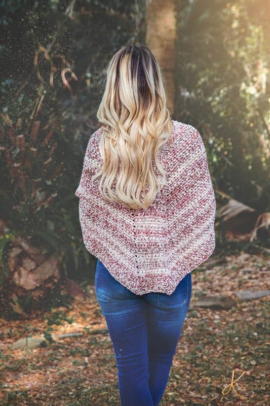 Faroese Triangle Crochet Shawl Pattern
