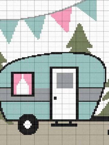camper pillow knit pattern