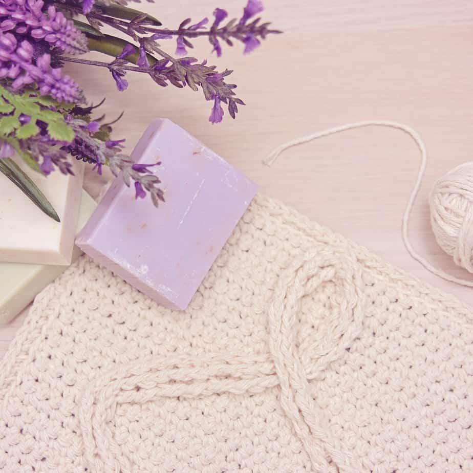 infinity crochet washcloth pattern