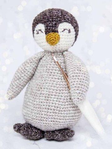 penguin crochet buddy pattern