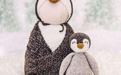Newborn Penguin Crochet Outfit