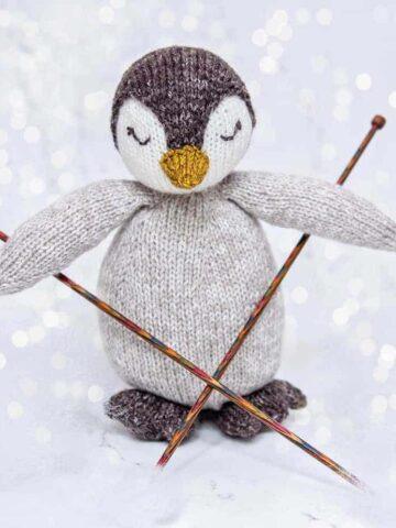 penguin knit buddy pattern