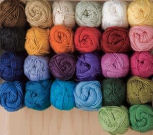 We crochet Shine Sport