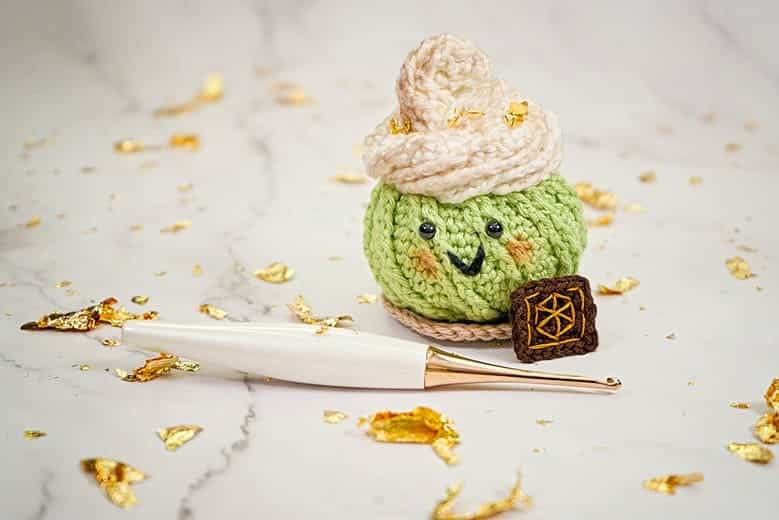 Glass Knife Dessert Pin Cushion Ami_0085