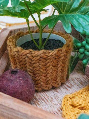 Herringbone Knit Stitch