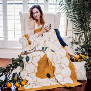 bee blanket crochet pattern