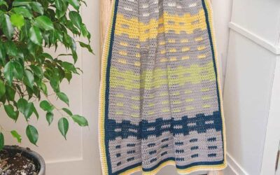 Garden Fence Free Crochet Blanket