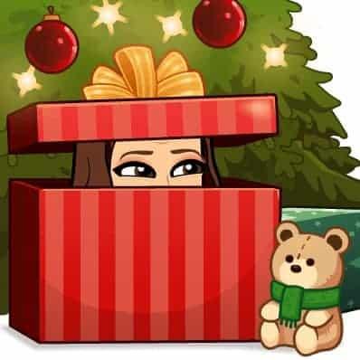 Briana K christmas Bitmoji