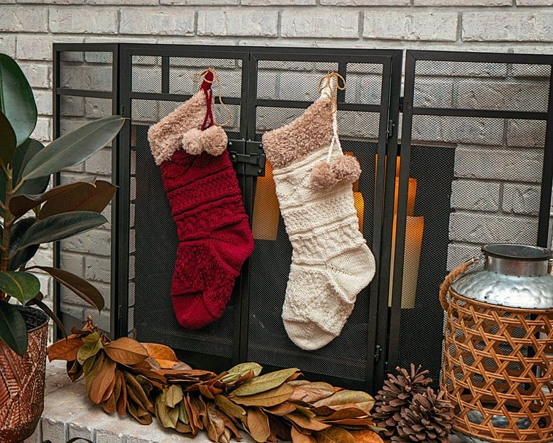 Christmas Traditional Stocking Knit A Long