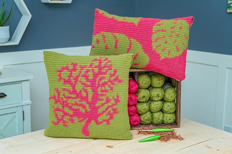 Key West Crochet Pillows
