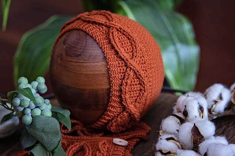 Eyelet Crochet Baby Romper