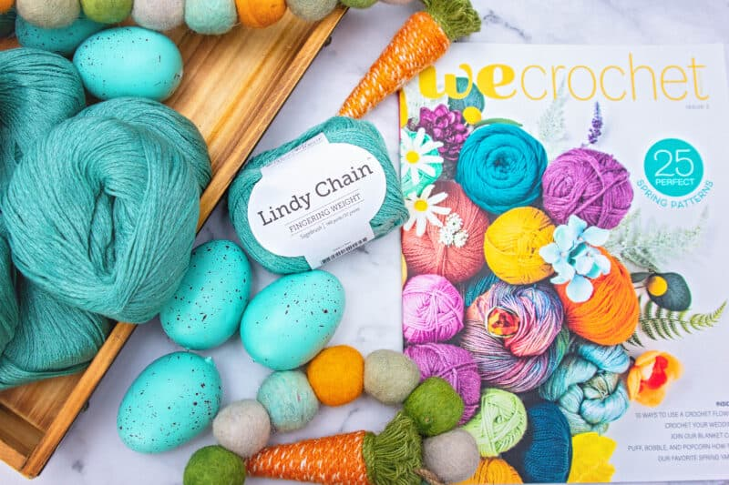 Lindy Chain Yarn by WeCrochet