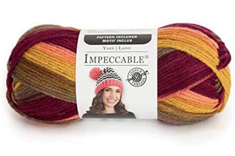 Impeccable Yarn Falling Leaves