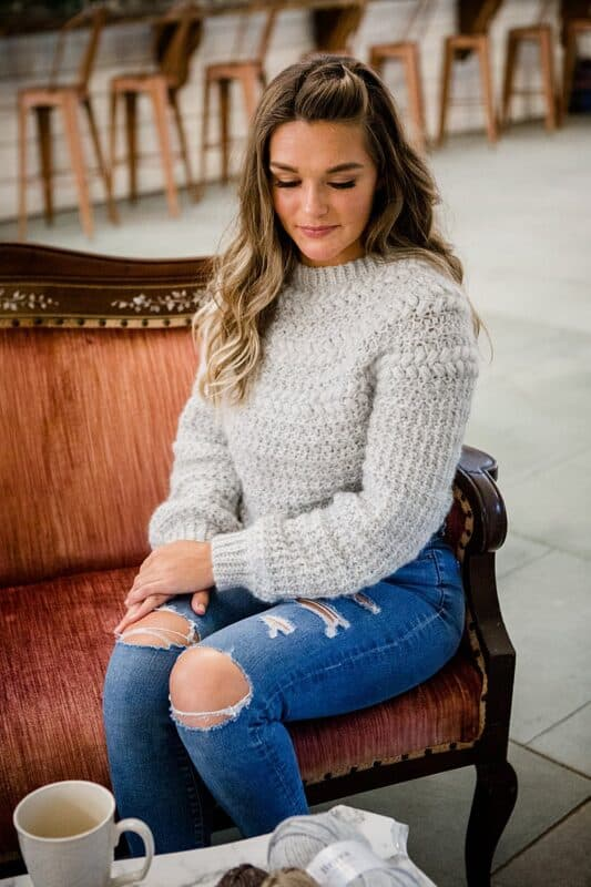 Macchiato Sweater Crochet Foundry