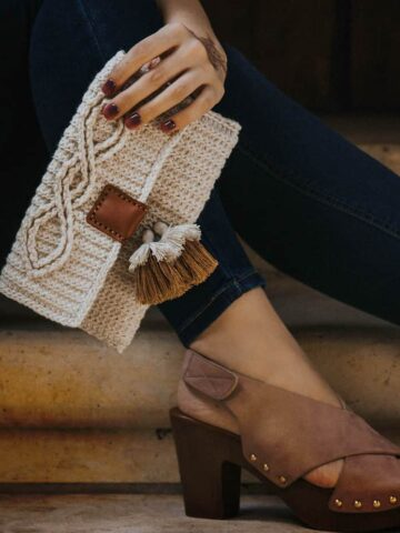 aishling clutch crochet pattern