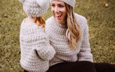 Macchiato Sweater & Beanie Crochet Pattern