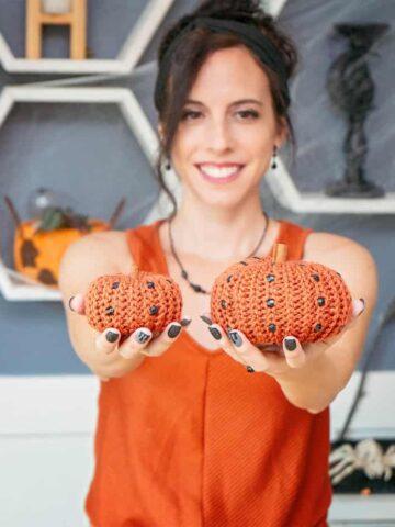 Bead Pumpkin