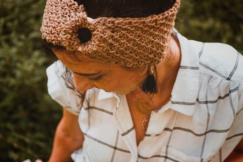 Honeycomb Earwarmer Headband Pattern