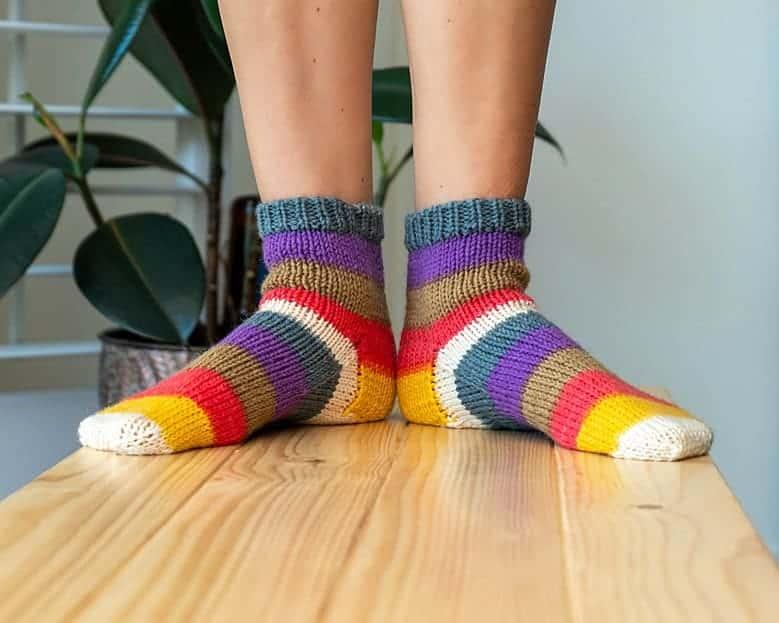 Felici Sock Pattern by Briana K_0232