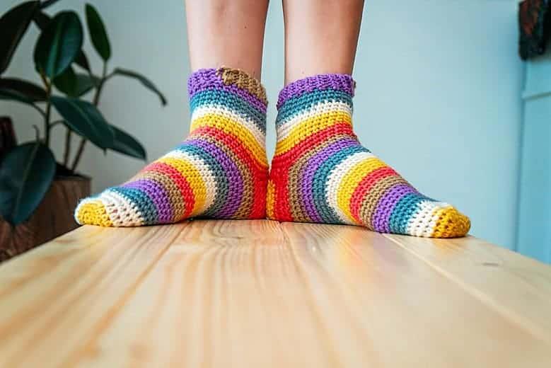 Felici Sock Pattern by Briana K_0245