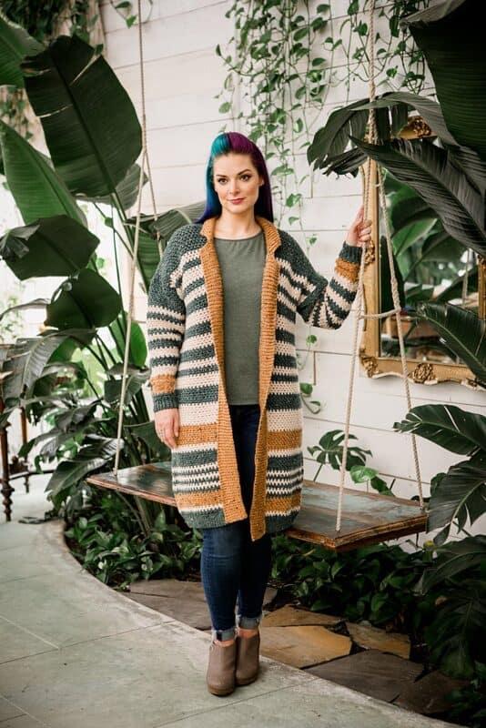 Shortbread Duster Crochet